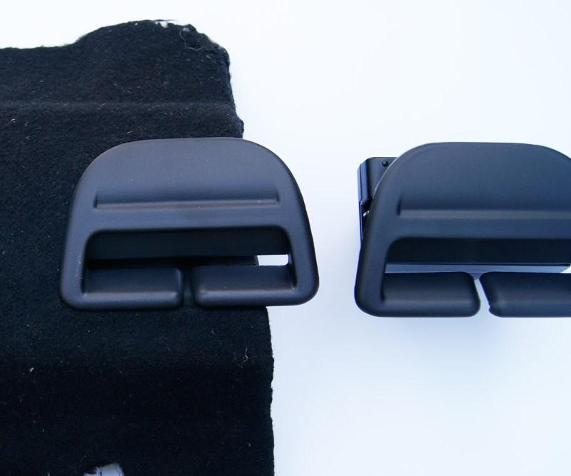 Pasaje de cinturón trasero Peugeot 408 Material: PA66